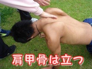 肩甲骨の動きを活性化させよう