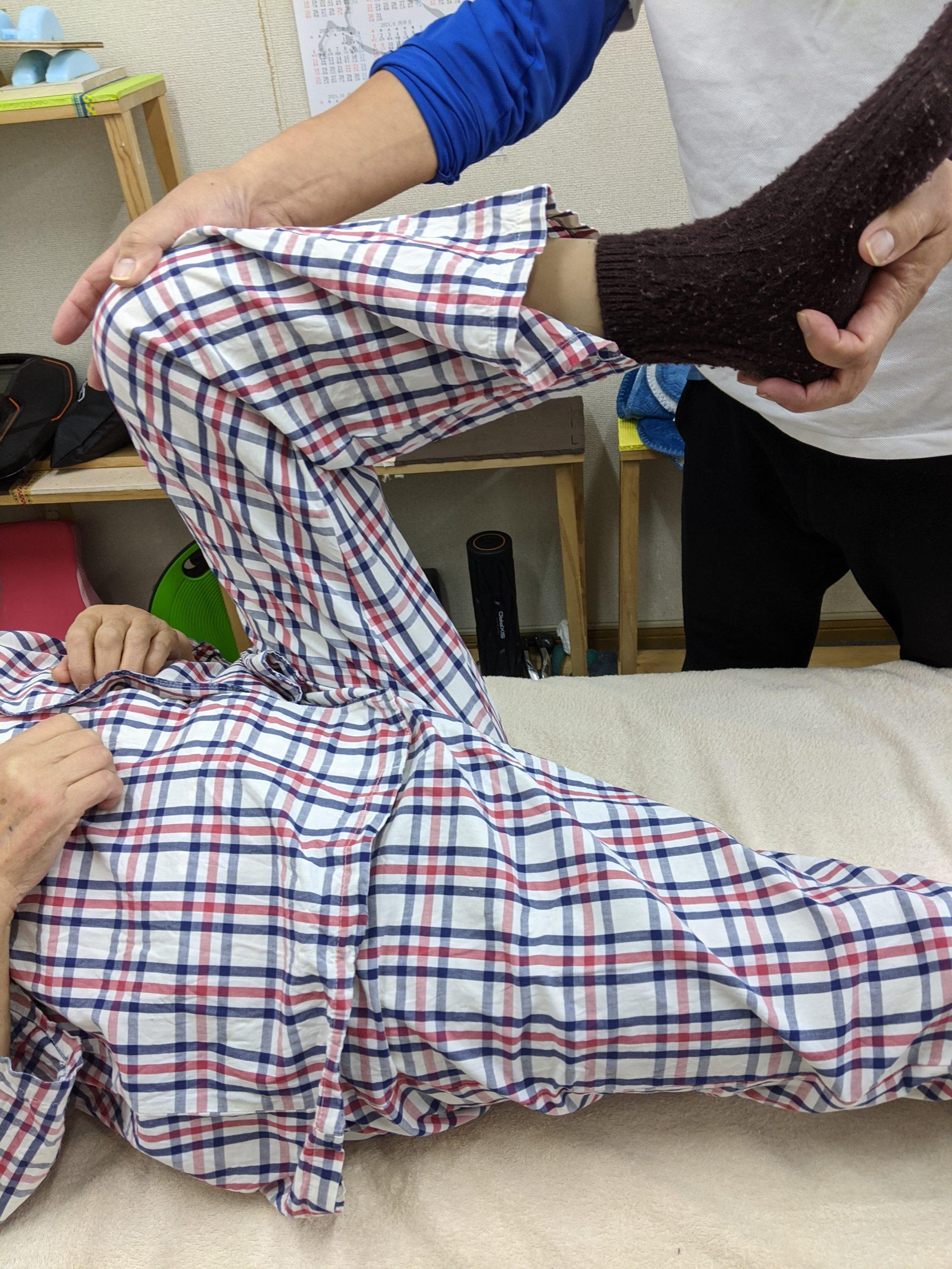 関節可動域測定と徒手矯正術について